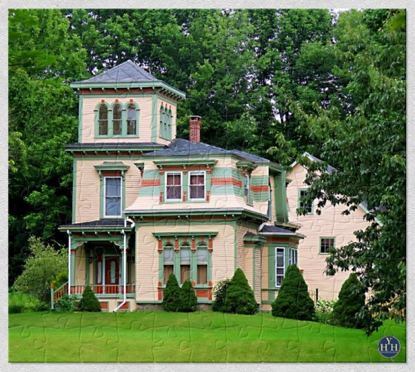 Perfectly Balanced: Italianate and Second Empire Puzzle Historic House