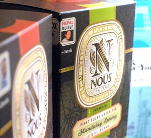 Nous Tea Helps with Nepal Reconstruction