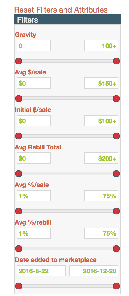 clickbank-search-options