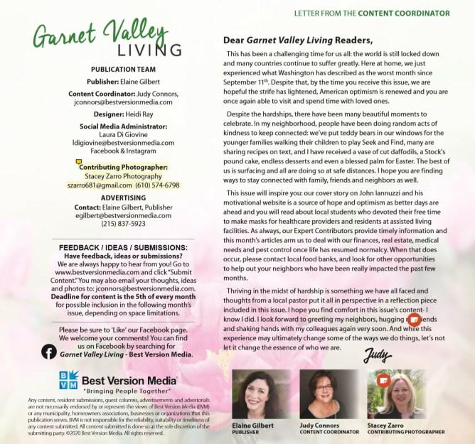 Garnet Valley Living - Glen Mills - John and Kathie Iannuzzi