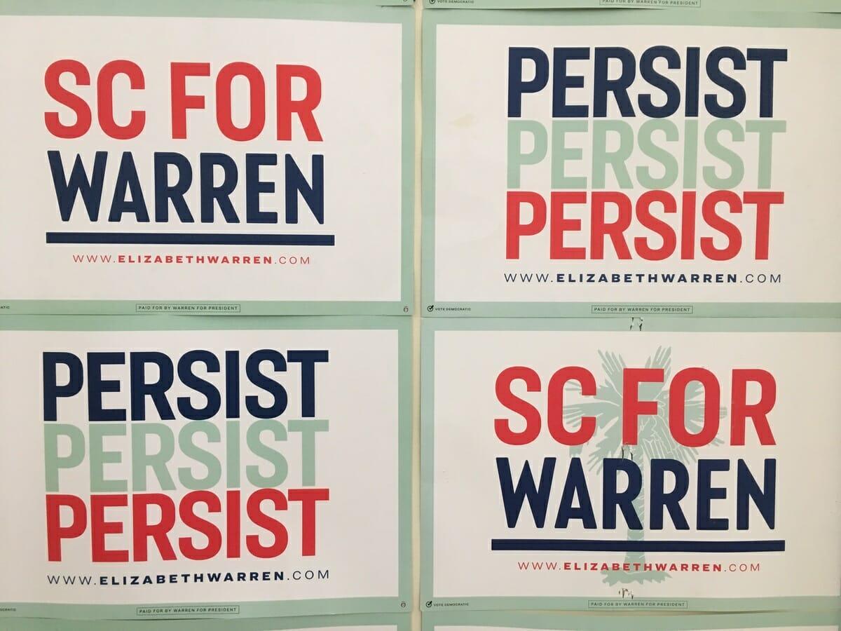 warren campaign opens office in