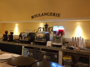 Great coffee and pastries 24 hours a day