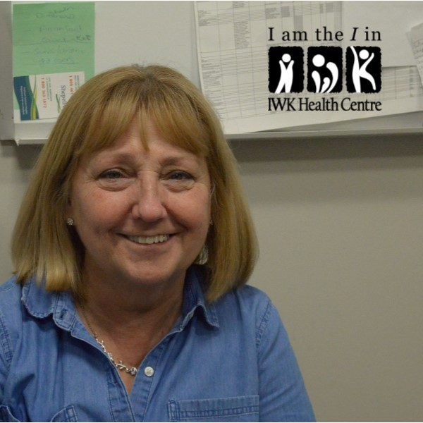 I am the I in the IWK -Debbie Patterson