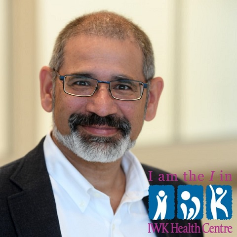 I am the I in IWK – Dr. Conrad Fernandez
