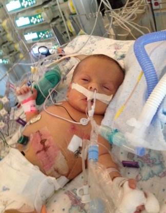 RT week picture - AJ Gillis baby