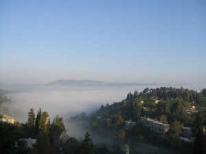 Jerusalem in the Fog 0324