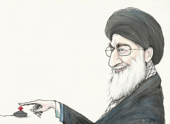 Iran finger on the button