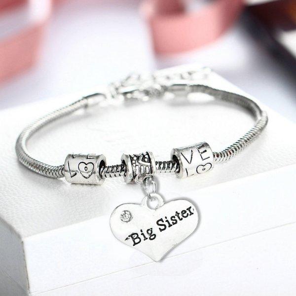 bracelet-ladies-big-sister-heart-diamante-charm