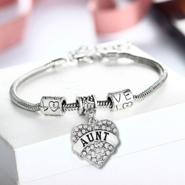 bracelet-ladies-silver-aunt-clear-crystals-heart