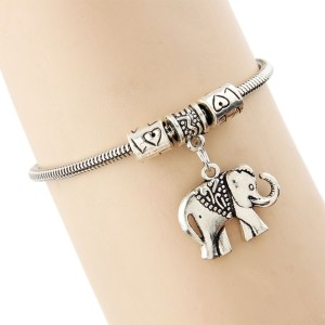 bracelet-ladies-silver-elephant