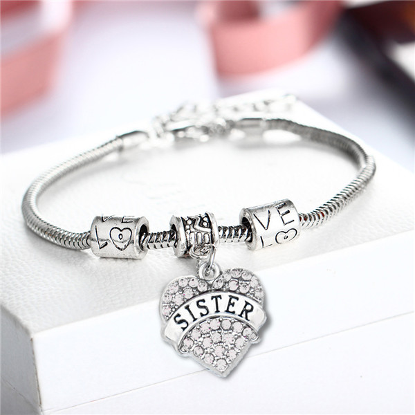 bracelet-ladies-sister-clear-crystals-charm-heart