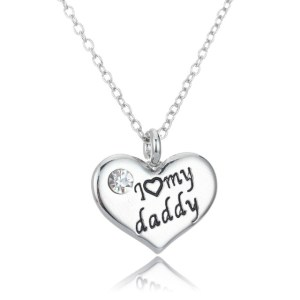 necklace-ladies-I-love-my-daddy-heart-silver-heart-diamante
