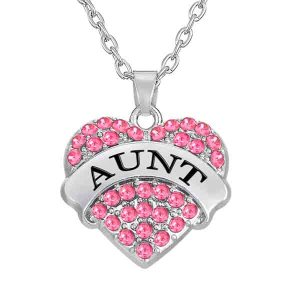 necklace-ladies-aunt-pink-crystals-heart