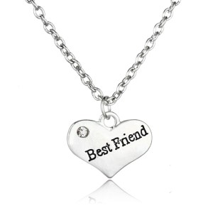 necklace-ladies-best-friend-silver-heart-daimante