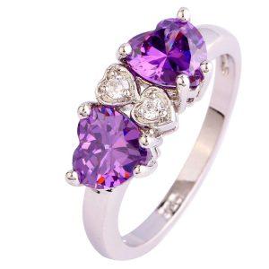 ring-ladies-sterling-silver-plated-elegant-purple-amethyst