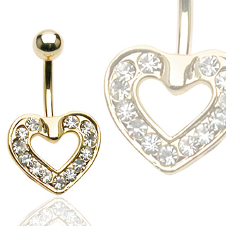 body-jewellery-navel-ring-surgical-steel-14kt-gold-plated-pave-heart-dangle
