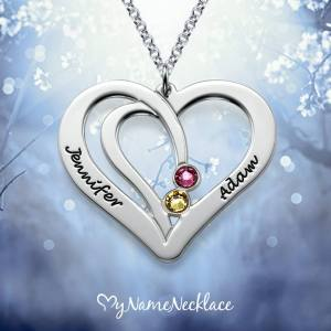 necklace-couples-sterling-silver-personalised-birthstone-engraved-couples-heart-photo