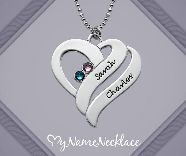 necklace-couples-sterling-silver-personalised-birthstone-two-hearts-forever-one