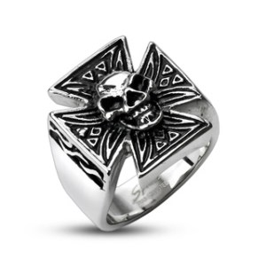 ring-mens-stainless-steel-skull-tribal-patterned-iron-cross