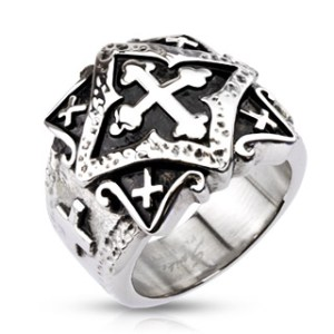 ring-mens-stainless-steel-wide-cast-ornamental-multi-cross-plate