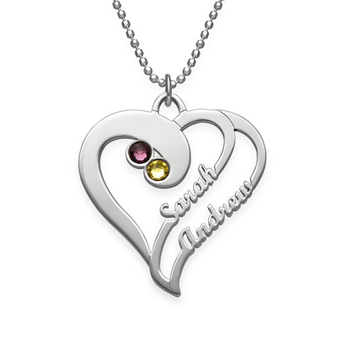 Two-Hearts-Forever-One-Script-Necklace-with-Birthstones_jumbo