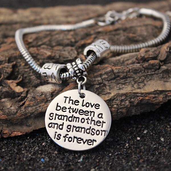 XIAOJINGLING-Dangle-Bracelet-Fashion-Bracelets-For-Women-The-love-between-a-grandmother-and-grandson-is-forever