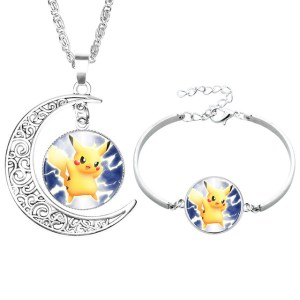 NingXiang-Popular-Game-Pokemon-Go-Pikachu-Glass-Cabochon-Moon-Pendant-Silver-Color-Chain-Necklace-Bracelet-Jewelry_jpg_640x640