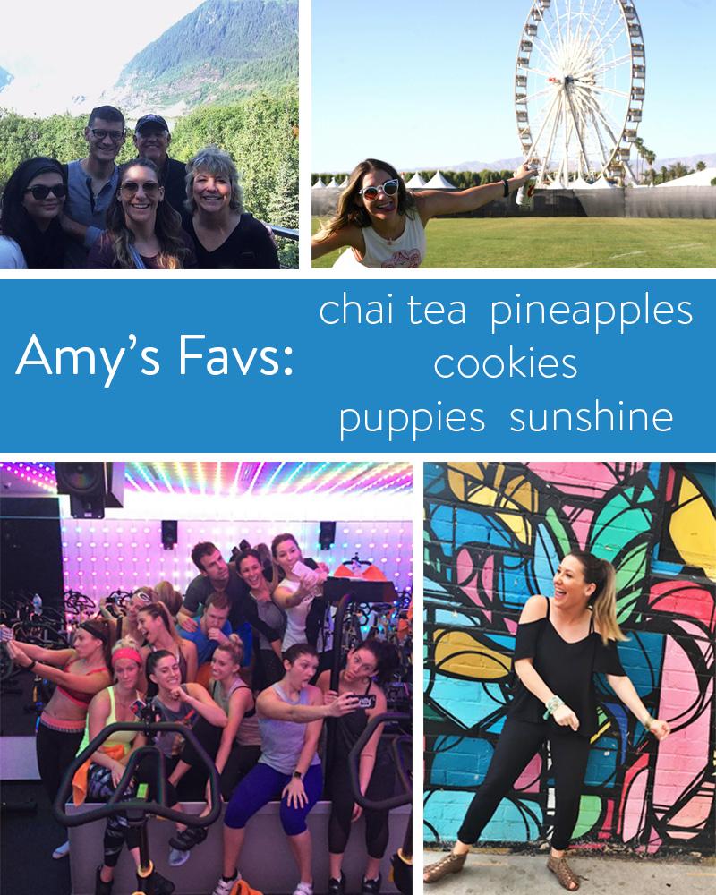 Amy's favorites