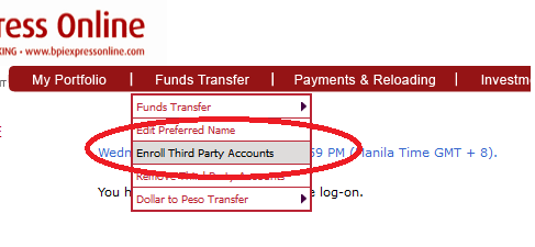 enroll-third-party-account-in-BPI-express-online