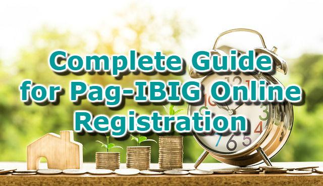 Complete Guide for PAG-IBIG Online Registration