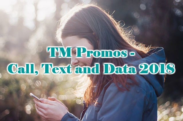 TM Promos – Call, Text and Data 2018