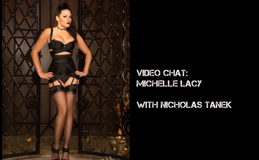 VIDEO CHAT:  Michelle Lacy with Nicholas Tanek