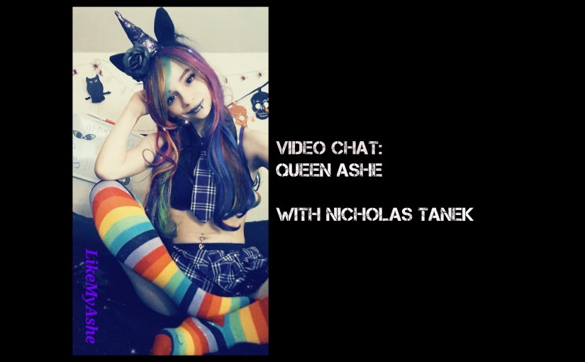 VIDEO CHAT: Queen Ashe with Nicholas Tanek
