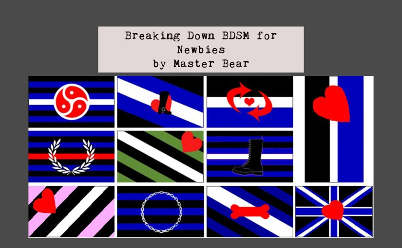 Breaking Down BDSM for Newbies by Master Bear