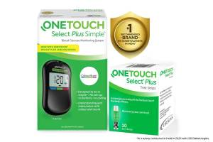 One-Touch Select Plus Simple Glucometer
