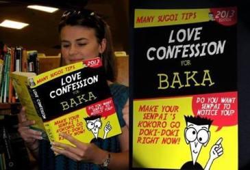 baka love confession meme