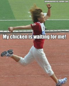 Chicken shinee meme