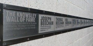 Slider image - Knowsley wall of fame