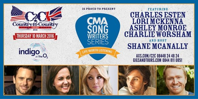 CMA Songwriters Series Line-Up Announced