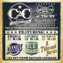 C2C Aftershow Artists Revealed