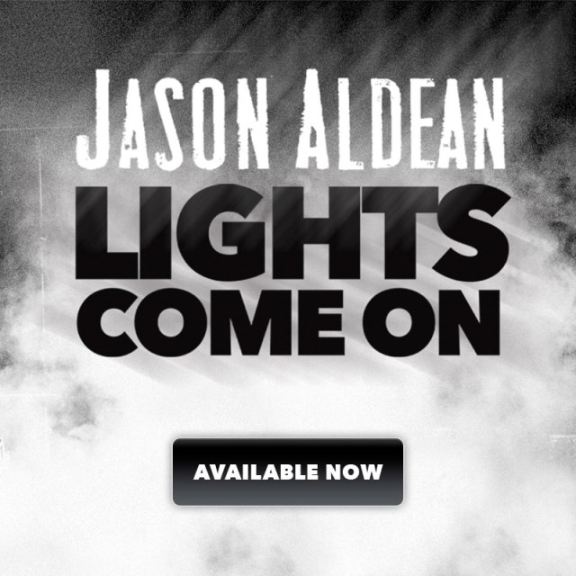Jason Aldean Releases New Single 'Lights Come On'