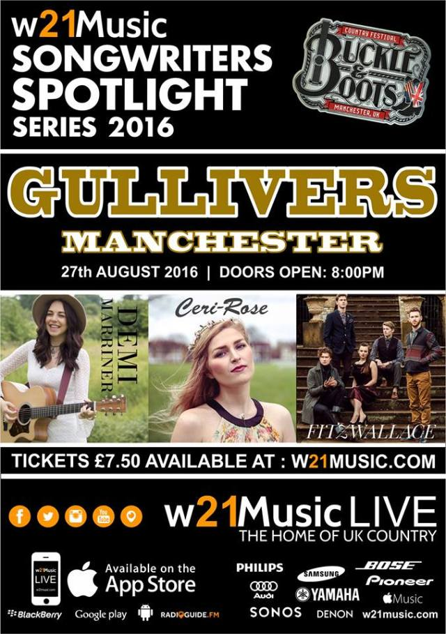 w21Music Songwriters Spotlight Series – August 27th