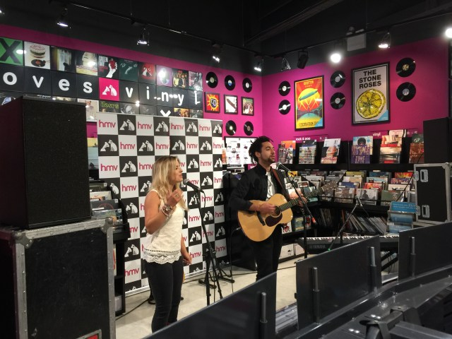 Watch The Shires Performing 'Other People's Things' At HMV In Birmingham