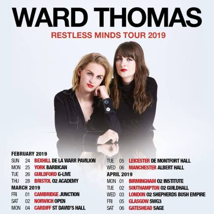 Ward Thomas Announce 2019 UK Tour & Release 'Never Know'
