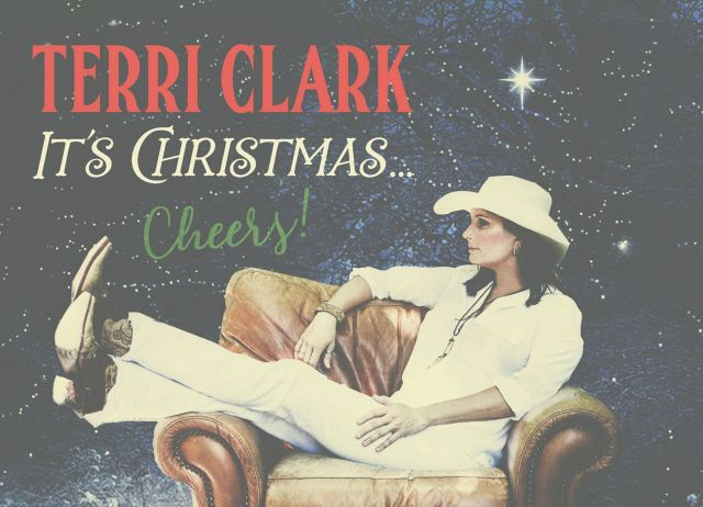Terri Clark Announces New Album, 'It's Christmas… Cheers!'