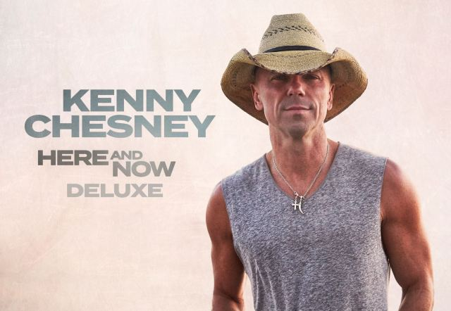 Kenny Chesney Announces 'Here and Now' Deluxe