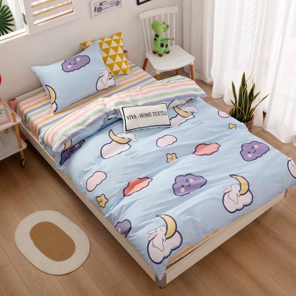 Комплект постельного белья на резинке Сатин Люкс KIDS CDKR004