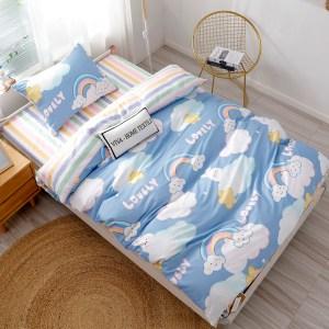 Комплект постельного белья на резинке Сатин Люкс KIDS CDKR008