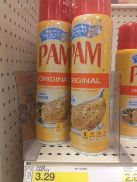 What's in PAM Cooking Spray?