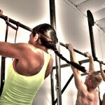 wide grip and close grip pull ups